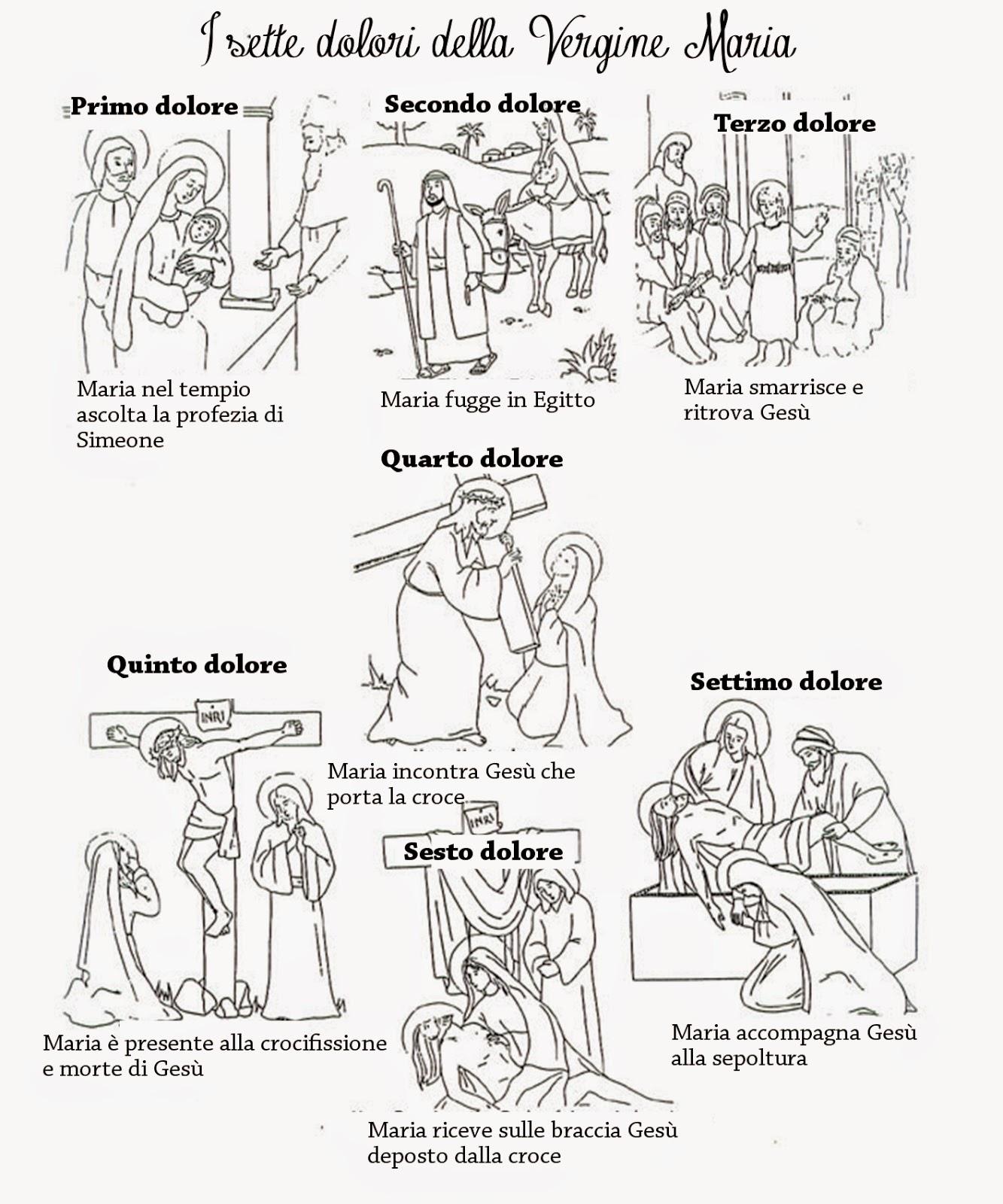 Piccola Chiesa Domestica: disegni da colorare