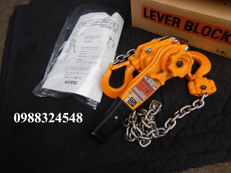 Pa lăng lắc tay Kito LB016 1600kg