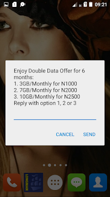AIRTEL 10GB DATA FOR N2500: AIRTEL DOUBLE DATA PLAN