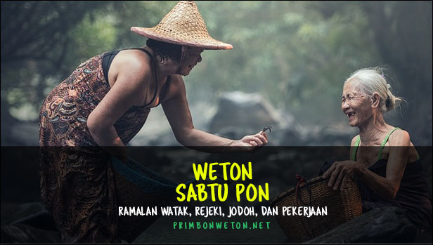Weton Sabtu Pon