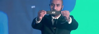اللاعب المصرى محمد شوقى يسحب قرعة دورى أبطال إفريقيا