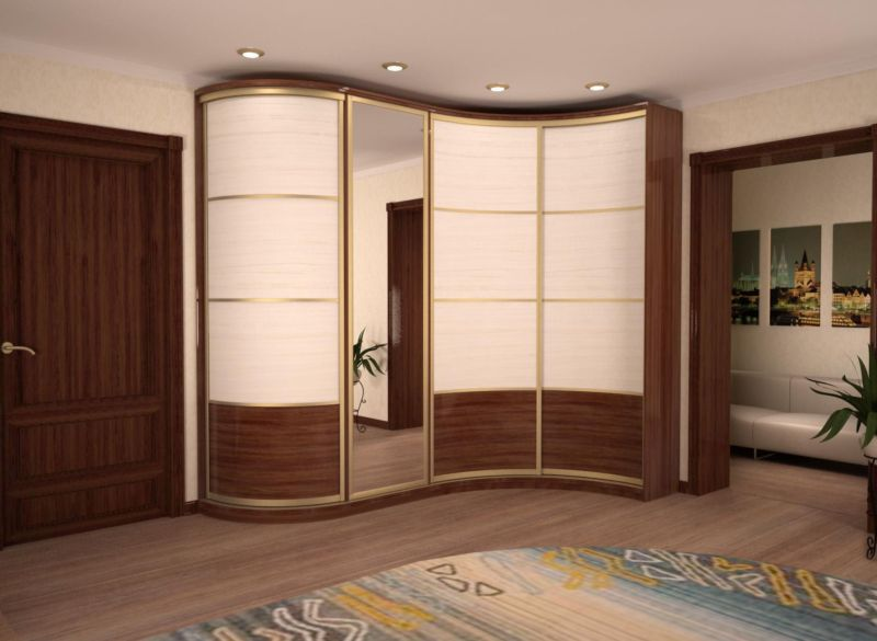 space saving corner wardrobe designs for small bedroom interiors 2019 & 50 Space saving Corner Wardrobe Designs for small bedroom interiors 2019