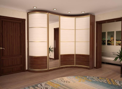 space saving corner wardrobe designs for small bedroom interiors 2019