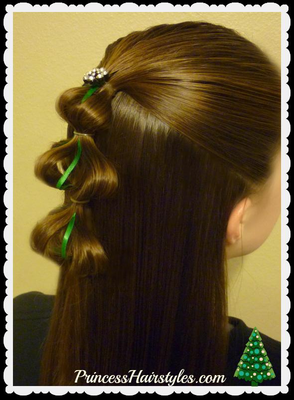 3d Christmas Tree Hair Tutorial Frisuren Blog