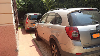 St. John Villa Rome parking