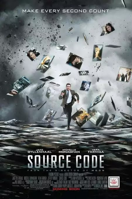Source Code (2011) Movie [Hindi English] 480p 720p