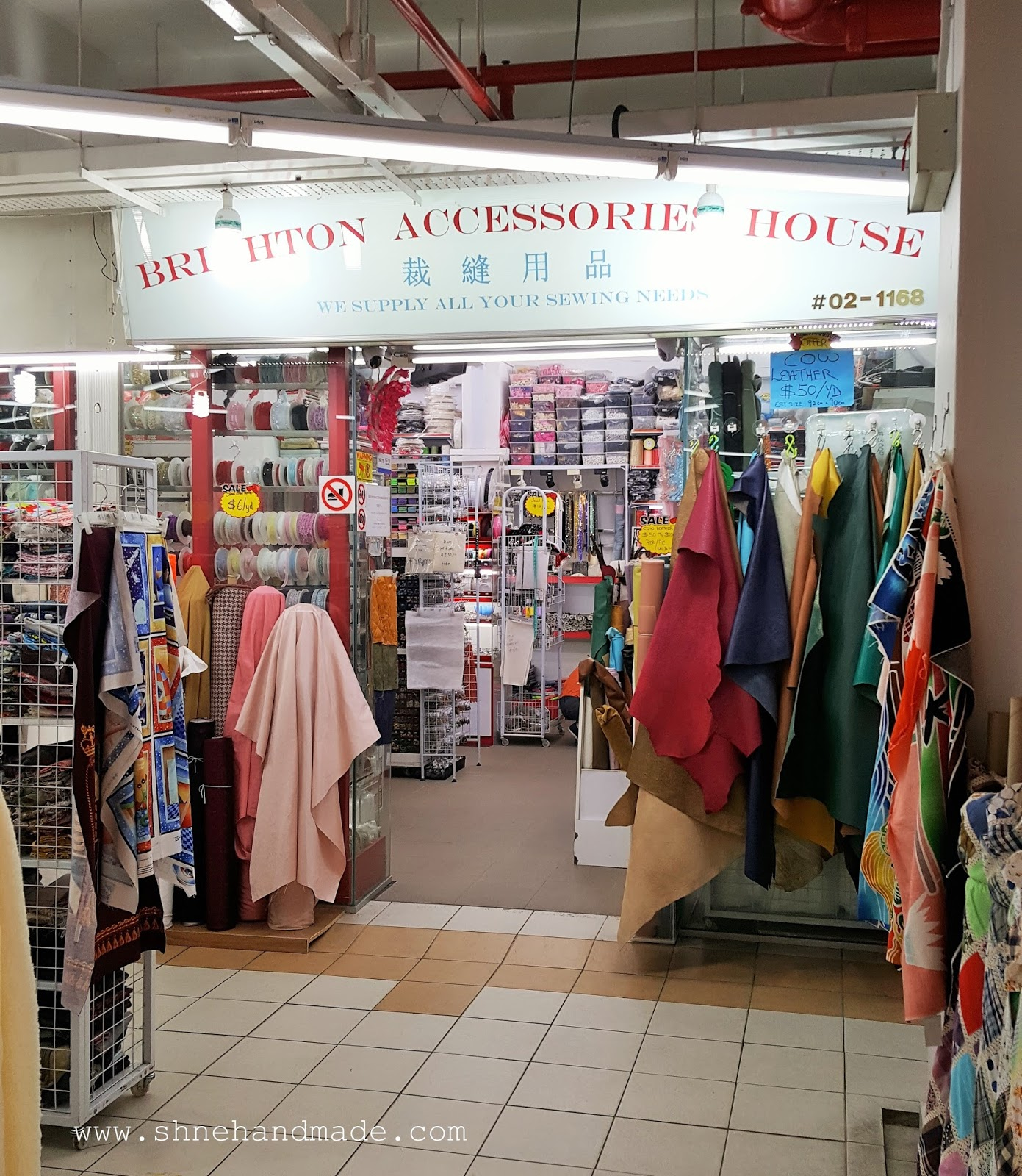 Shané Handmade: Fabric Hunts / Sewing Supplies in Singapore