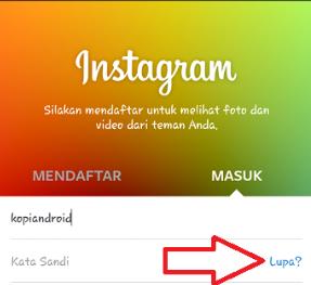 Cara Ganti Kata Sandi Akun Instagram