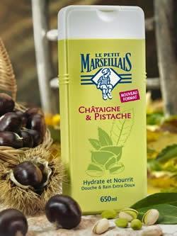 Douche & Bain Extra Doux Châtaigne & Pistache - Le Petit Marseillais