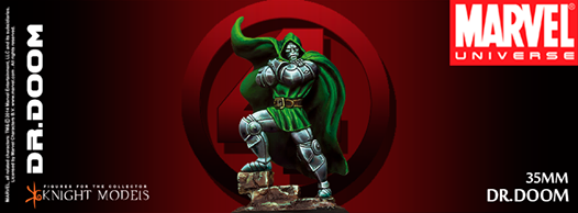 Dr. Doom Marvel Knight Models