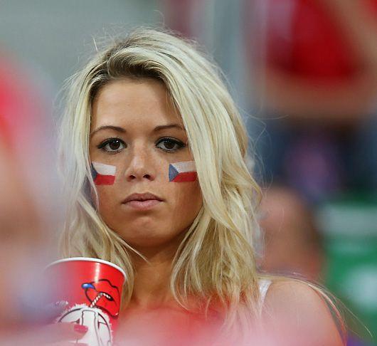 Czech Republic Female Fans-3 Euro 2016
