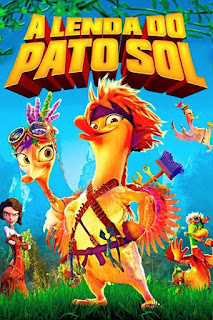 A Lenda do Pato Sol - BDRip Dual Áudio