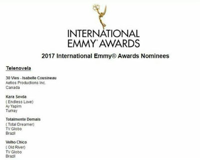 Serialul fenomen Kara Sevda a fost nominalizat la International Emmy Awards 2017