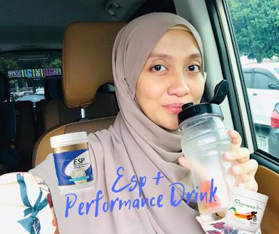 Minuman pagi ESP dan Performance Drink