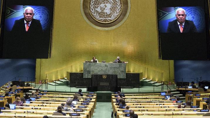 Heboh Vanuatu 'Serang' RI di PBB, Teriak-teriak Soal Papua