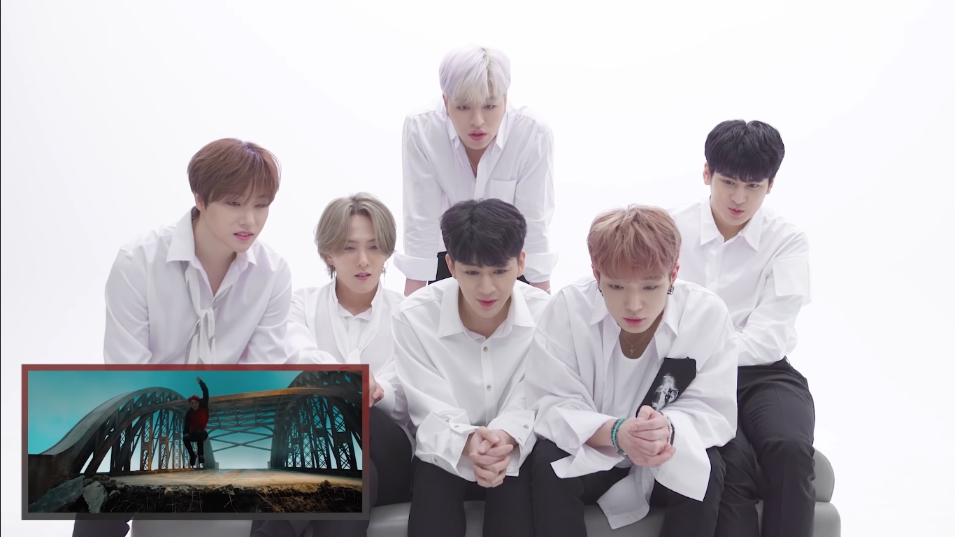 iKON Give The Reaction of Their Own MV 'Dive'