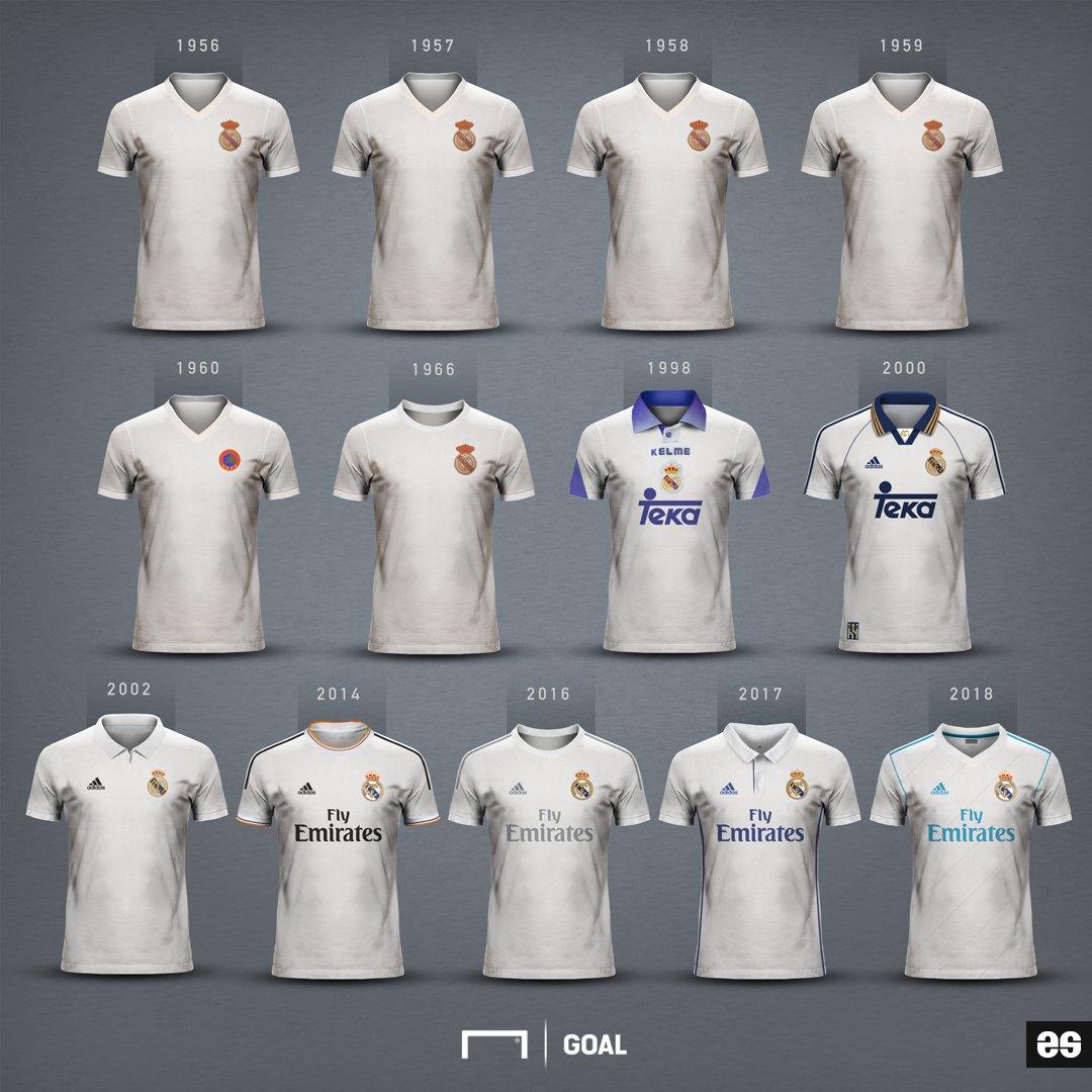 Confira todas as camisas do Real Madrid nos títulos da Champions League 09f95954d7097