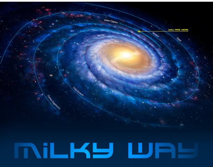 """The home of 200 billion stars""""The Milky Way"""""""