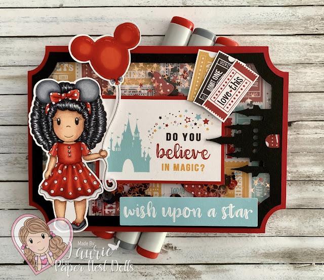 My Minnie Amara Card