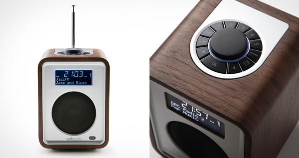 Ruark Audio R1 Deluxe Table Top DAB Radio in Rich Walnut Veneer