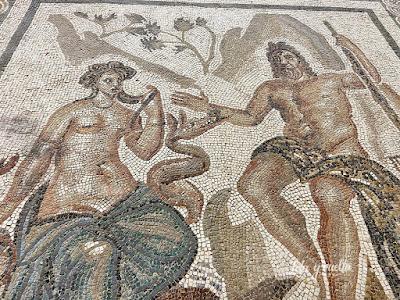 Visitar Córdoba mosaico en el Alcázar