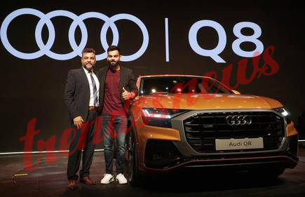 Virat Kohli purchases nation's first Audi Q8 vehicle, cost will be lost