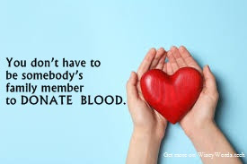 World Blood Donor Day Quote,Message,Slogan