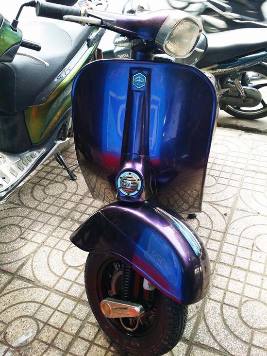 Sơn xe máy đẹp giá rẻ tại Tphcm