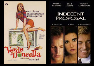 Verde doncella vs. Indecent Proposal: la moral y el dinero