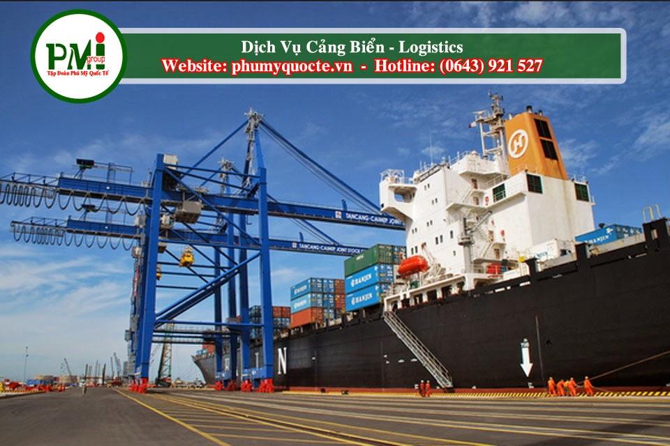Phú Mỹ Quốc Tế Cung Cấp Dịch Vụ Logistics  Và Hỗ Trợ Thủ Tục Hải Quan
