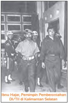 Ibnu Hajar, Pemimpin Pemberontakan DI/TII di Kalimantan Selatan