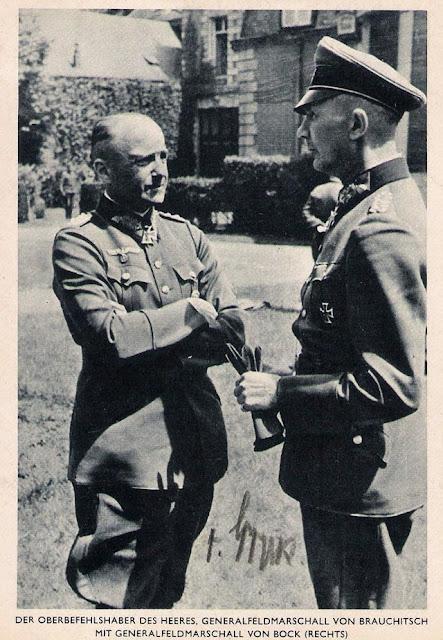 Franz Halder with Field Marshal Fedor von Bock worldwartwo.filminspector.com