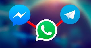 مقارنة, سريعة, بين, تطبيقات, تليغرام, وماسنجر, فيسبوك, والواتس, آب