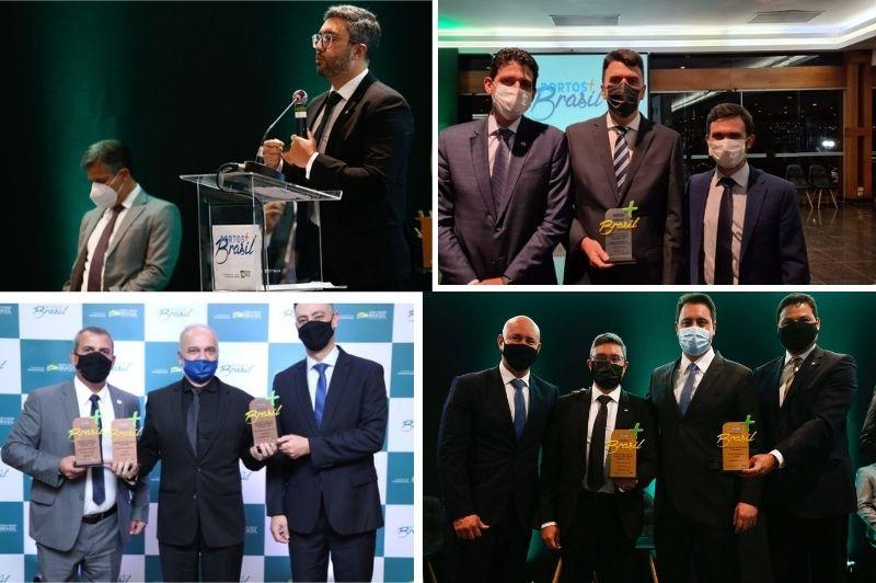 'Portos + Brasil' premia 21 autoridades portuárias pela excelência na gestão
