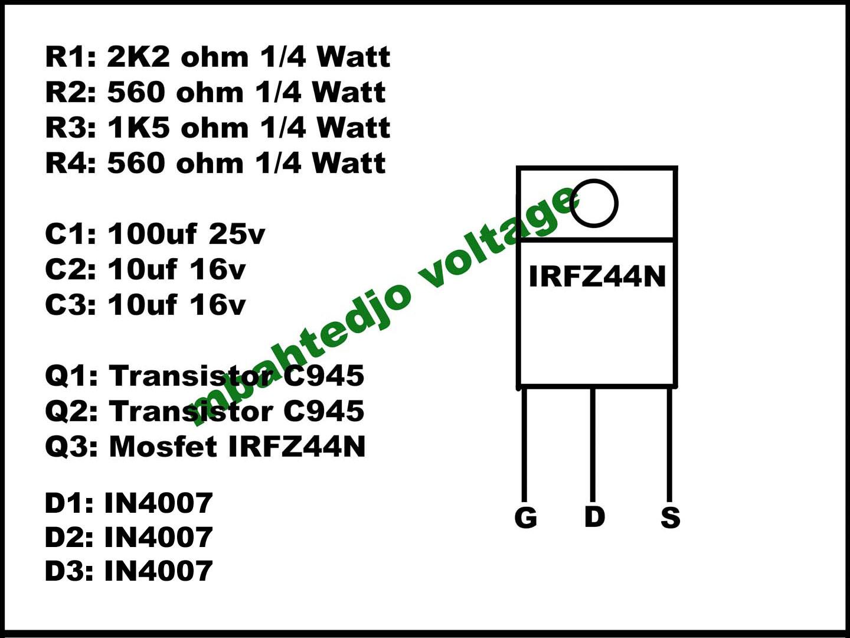 mbahtedjo voltage: How To Alter Aerator 220V AC To 12V DC