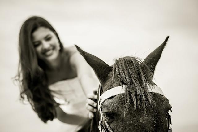 ensaio de fotos noiva trancoso cavalo