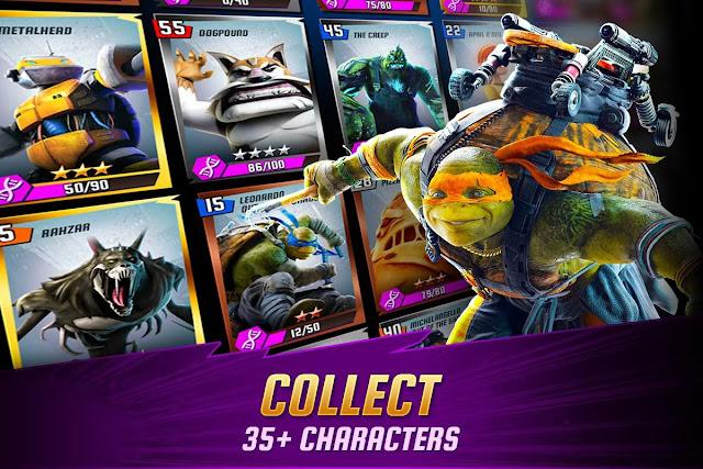 Ninja Turtles: Legends MOD APK Unlimited Money