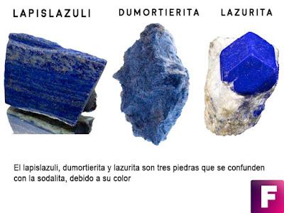 lapislazuli dumortierita lazurita sodalita | foro de minerales