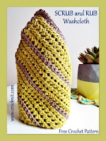 how to crochet, free crochet patterns, washcloth, facecloth,