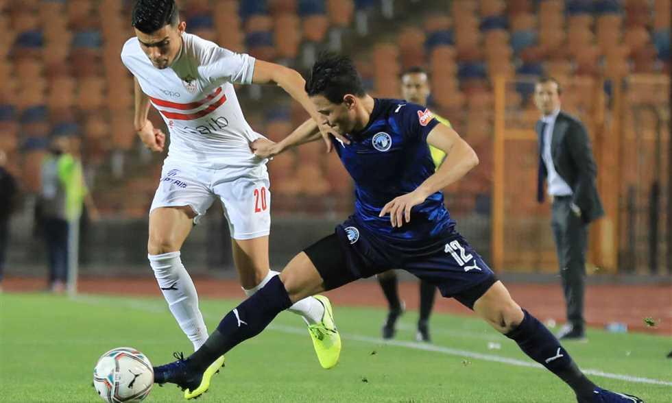 ملخص واهداف مباراة الزمالك وبيراميدز (1-1) الدوري المصري