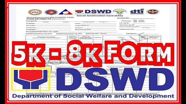 Paano at sinu-sino ang maaring makatanggap ng Social Amelioration Card (SAC)