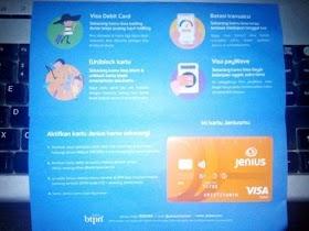 BTPN Jenius Debit Card Untuk Pembayaran Online