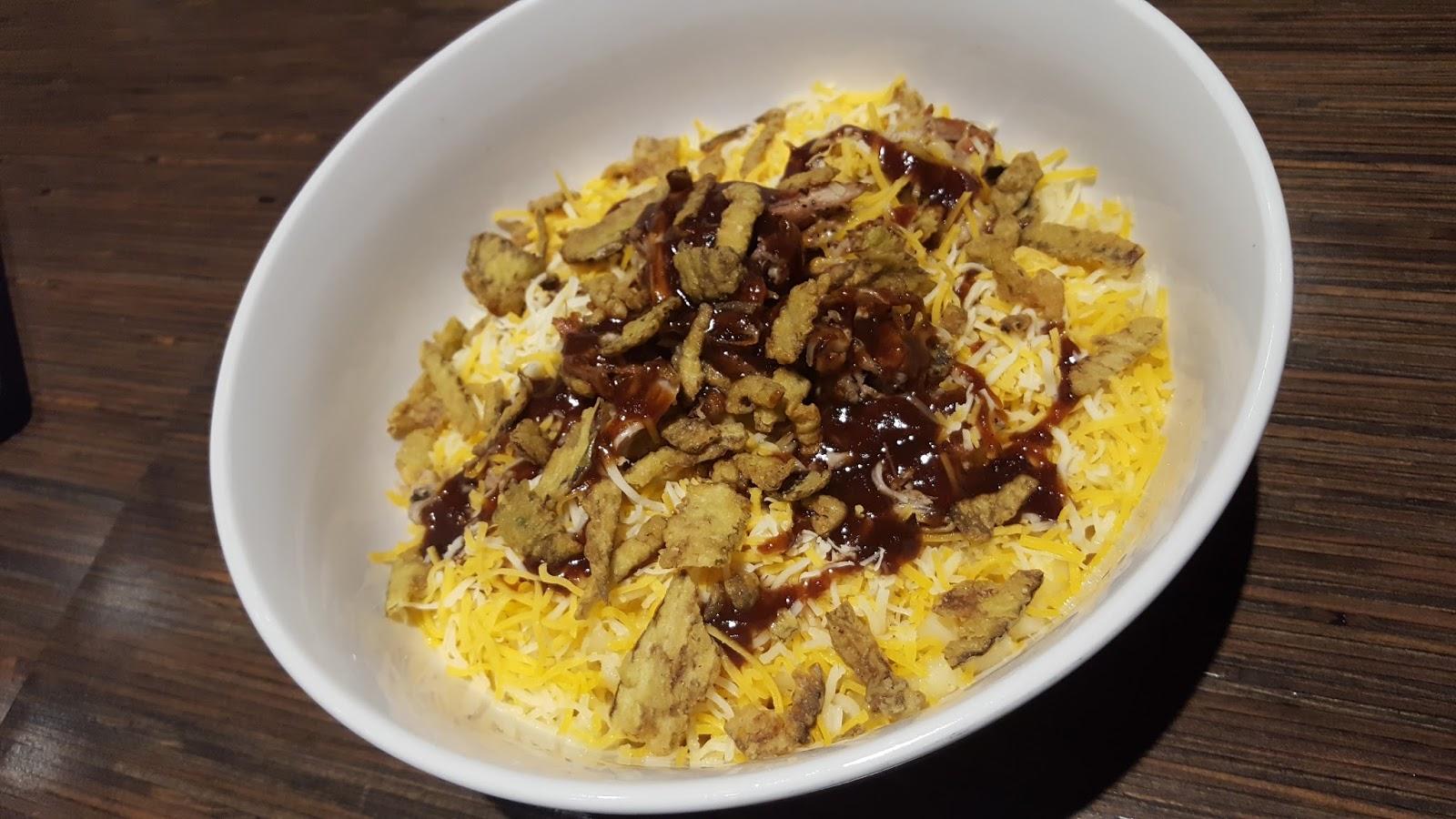 Noodles & Company mac 'n cheese dishes bbq pork