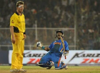 India vs Australia 2nd Quarter-final ICC Cricket World Cup 2011 Highlights
