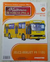 """Jelcz PR-110U, model, De Agostini, """"Kultowe Autobusy PRL-u"""""""
