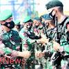 Pangdam Hasanuddin Berangkatkan Prajurit Yonif Raider 700/WYC Ke Papua