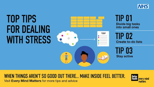 Tips for dealing with stress - every mind matters