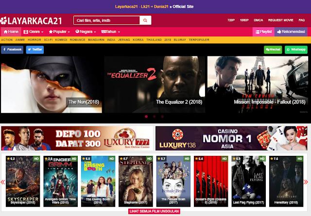 Situs Download Film Layar Kaca 21 /LK21 yang Asli