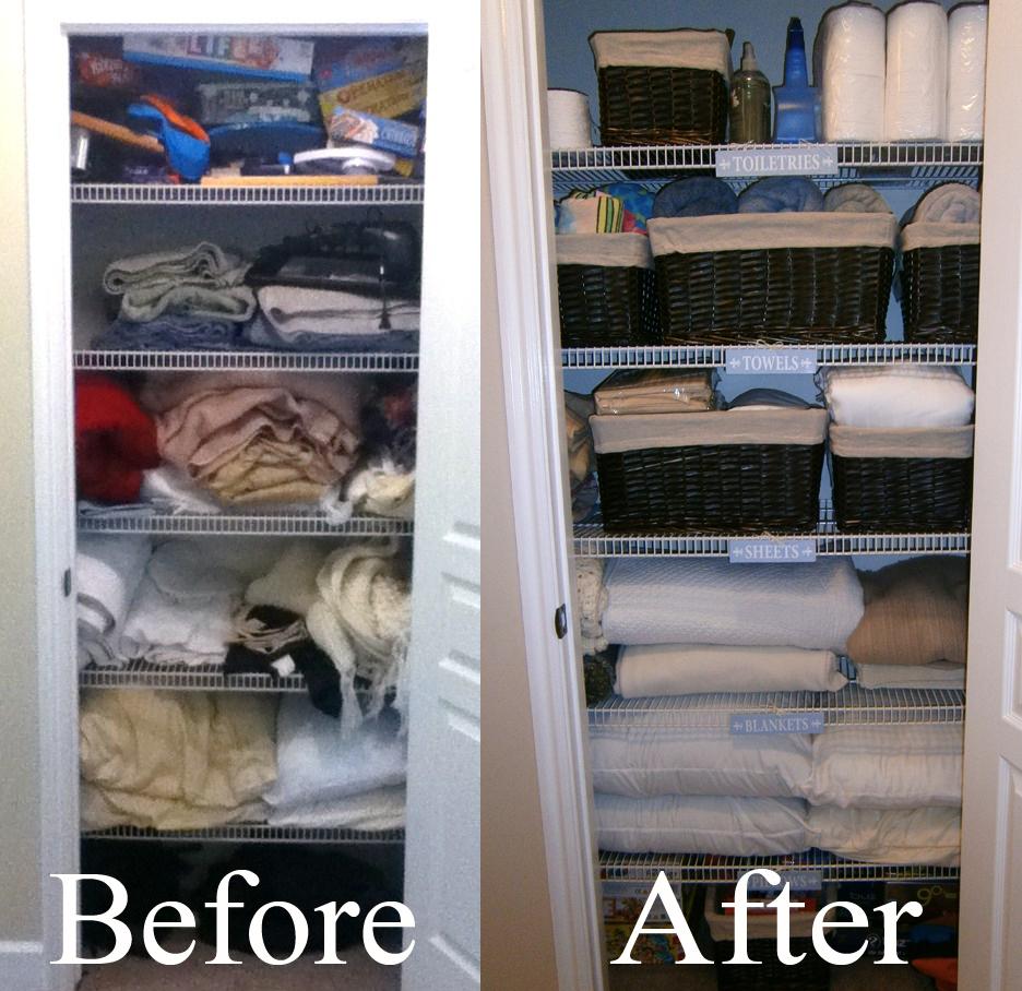 How To Build A Linen Closet Organizer