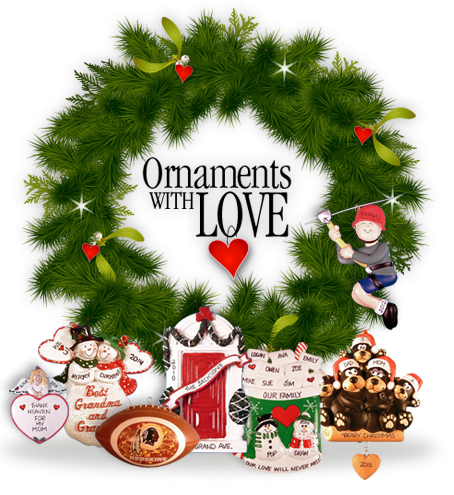 Personalized Christmas Ornaments Baby First